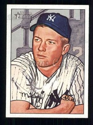 2007 Bowman Heritage #7  Mickey Mantle