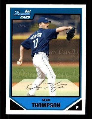 2007 Bowman Prospect #67 BP Sean Thompson