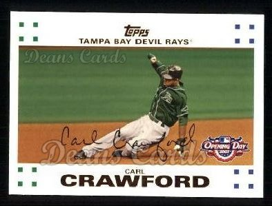2007 Topps Opening Day #193  Carl Crawford