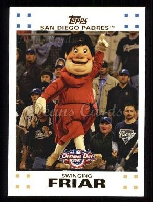 2007 Topps Opening Day #211  Swinging Friar