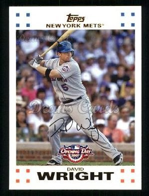 2007 Topps Opening Day #5  David Wright