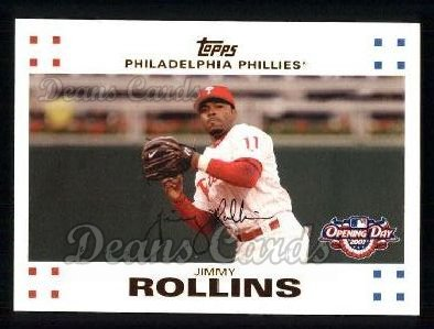 2007 Topps Opening Day #66  Jimmy Rollins