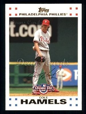 2007 Topps Opening Day #68  Cole Hamels