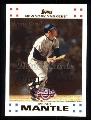 2007 Topps Opening Day #7  Mickey Mantle