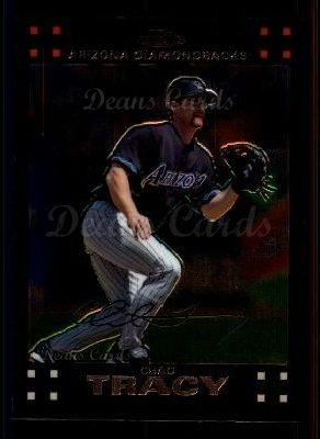 2007 Topps Chrome #104  Chad Tracy