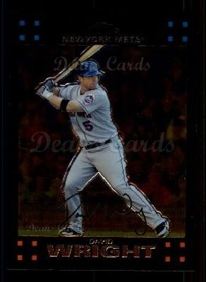 2007 Topps Chrome #107  David Wright
