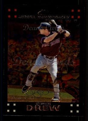2007 Topps Chrome #112  Stephen Drew