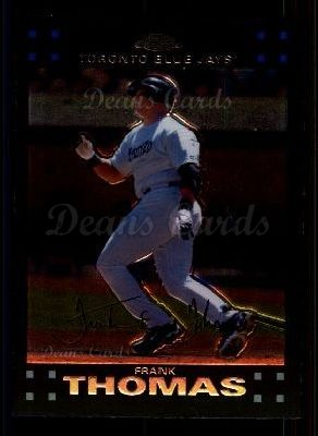 2007 Topps Chrome #116  Frank Thomas