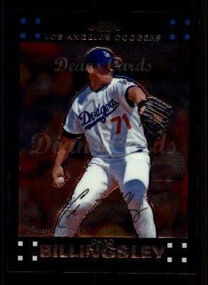 2007 Topps Chrome #128  Chad Billingsley