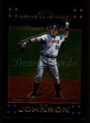 2007 Topps Chrome #163  Nick Johnson
