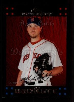 2007 Topps Chrome #184  Josh Beckett