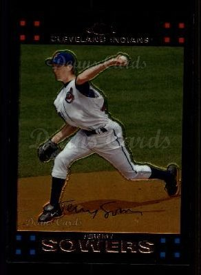 2007 Topps Chrome #24  Jeremy Sowers