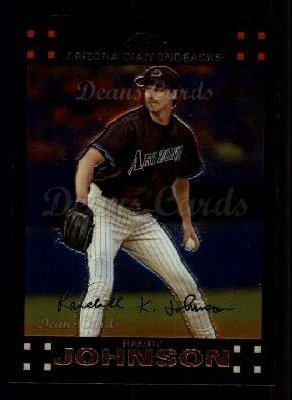 2007 Topps Chrome #240  Randy Johnson