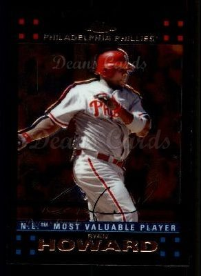 2007 Topps Chrome #257  Ryan Howard