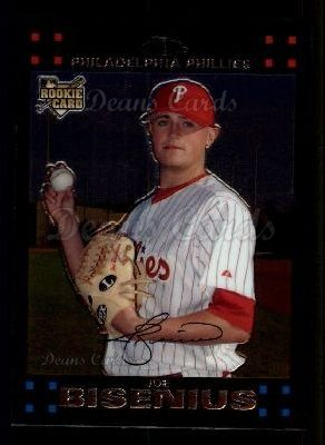 2007 Topps Chrome #291  Joe Bisenius