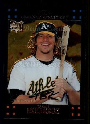 2007 Topps Chrome #310  Travis Buck