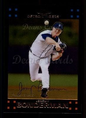 2007 Topps Chrome #73  Jeremy Bonderman