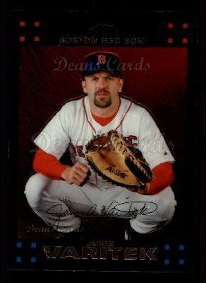 2007 Topps Chrome #9  Jason Varitek