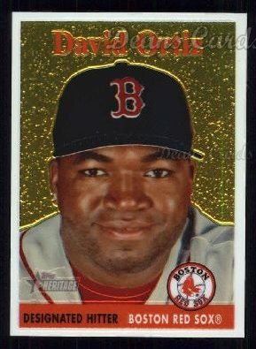 2007 Topps Heritage Chrome #1  David Ortiz