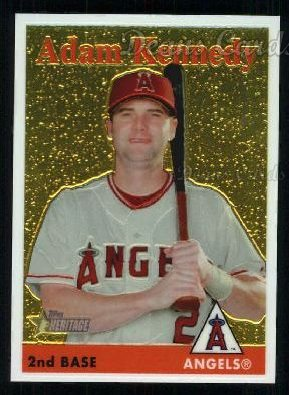 2007 Topps Heritage Chrome #10  Adam Kennedy