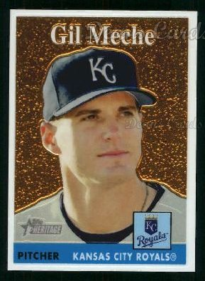 2007 Topps Heritage Chrome #15  Gil Meche