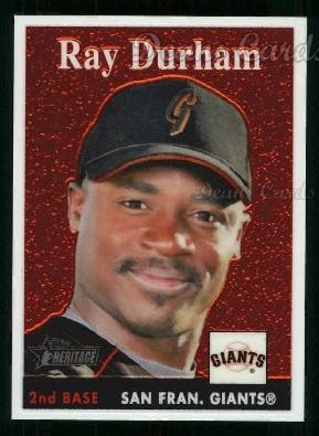 2007 Topps Heritage Chrome #16  Ray Durham