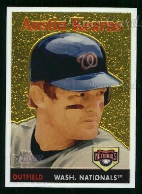2007 Topps Heritage Chrome #20  Austin Kearns