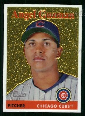 2007 Topps Heritage Chrome #24  Angel Guzman