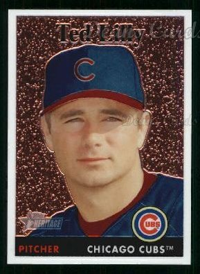 2007 Topps Heritage Chrome #28  Ted Lilly