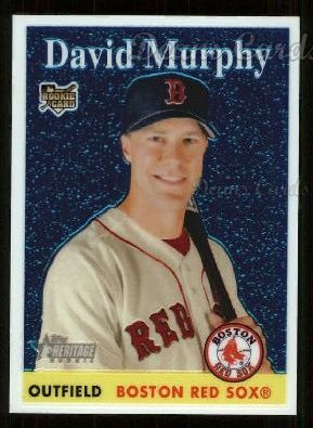 2007 Topps Heritage Chrome #42  David Murphy