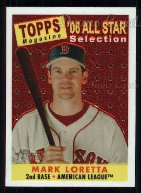 2007 Topps Heritage Chrome #54   -  Mark Loretta All-Star