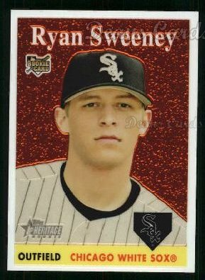 2007 Topps Heritage Chrome #62  Ryan Sweeney
