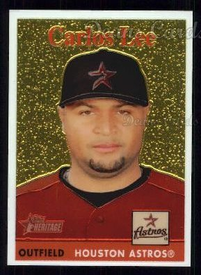 2007 Topps Heritage Chrome #78  Carlos Lee