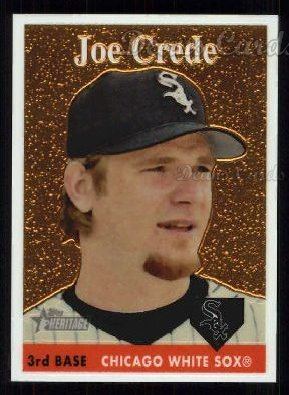 2007 Topps Heritage Chrome #80  Joe Crede