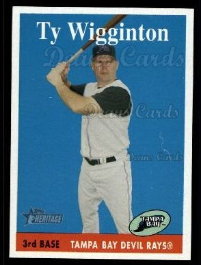 2007 Topps Heritage #212  Ty Wigginton
