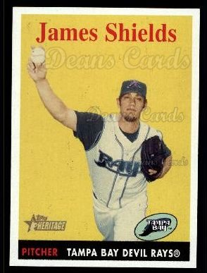 2007 Topps Heritage #237  James Shields