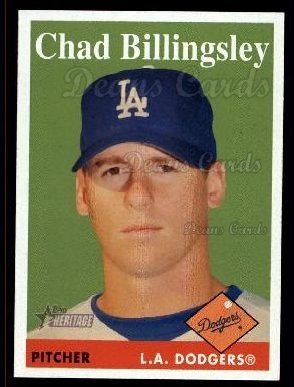 2007 Topps Heritage #313  Chad Billingsley
