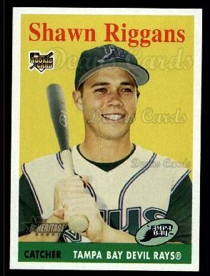 2007 Topps Heritage #456  Shawn Riggans