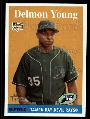 2007 Topps Heritage #47  Delmon Young