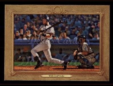 2007 Topps Turkey Red #109   -  Derek Jeter The Captain