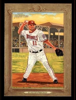 2007 Topps Turkey Red #127  Ryan Zimmerman