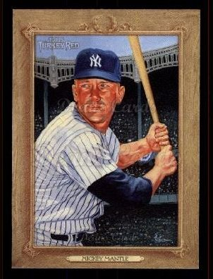 2007 Topps Turkey Red #167  Mickey Mantle