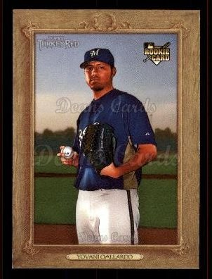 2007 Topps Turkey Red #186  Yovani Gallardo