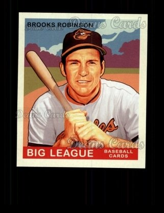 2007 Upper Deck Goudey Green Backs #213  Brooks Robinson