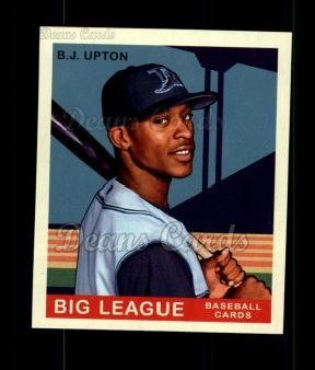 2007 Upper Deck Goudey Green Backs #12  B.J. Upton