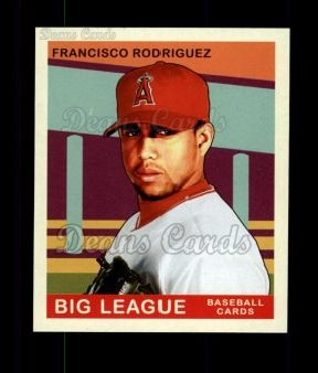 2007 Upper Deck Goudey Green Backs #123  Francisco Rodriguez
