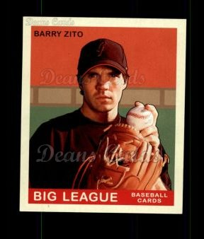 2007 Upper Deck Goudey Green Backs #13  Barry Zito