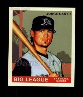 2007 Upper Deck Goudey Green Backs #184  Jorge Cantu
