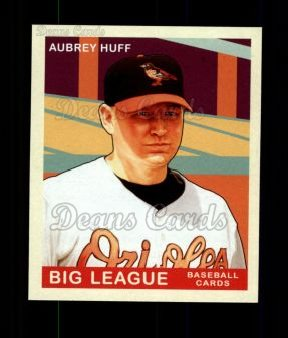 2007 Upper Deck Goudey Green Backs #193  Aubrey Huff