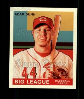 2007 Upper Deck Goudey Green Backs #4  Adam Dunn